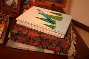 Beth Moore study, Bible, prayer journal, pen