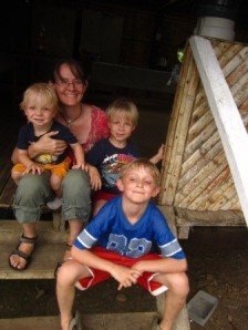 My boys and me